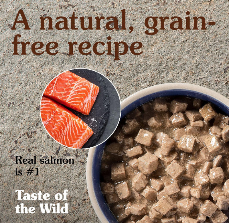 Taste Of The Wild Rocky Mountain Grain-Free Canned Cat Food From Chewy.com