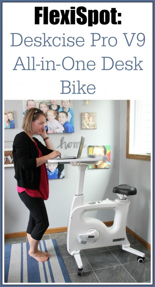 FlexiSpot: Deskcise Pro All-in-One Desk Bike