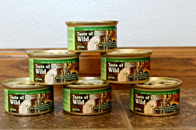Taste Of The Wild Rocky Mountain Grain Free Canned Cat Food From