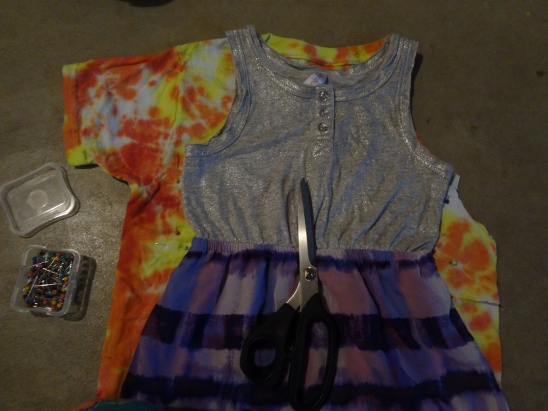 Diy Tie Dye Dress Tutorial
