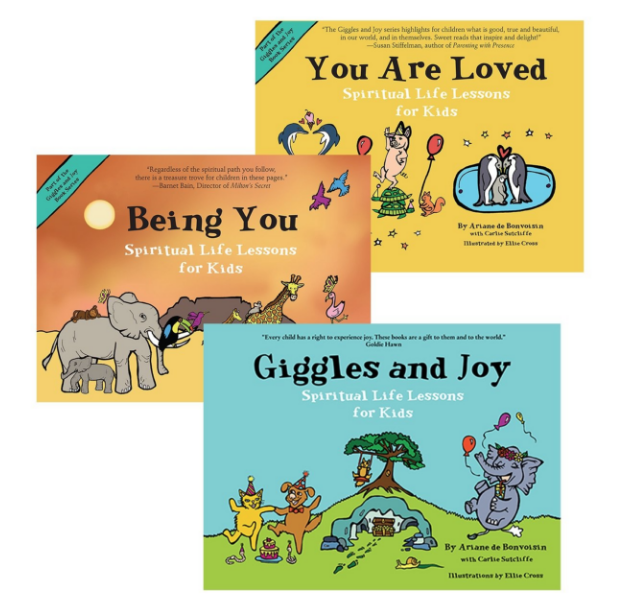 Giggles and Joy Series: Spiritual Life Lessons for Kids By Ariane de Bonvoisin