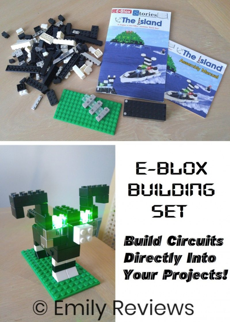 The Island\' E-Blox LED Light-Up Building Blocks Stories – Review ...