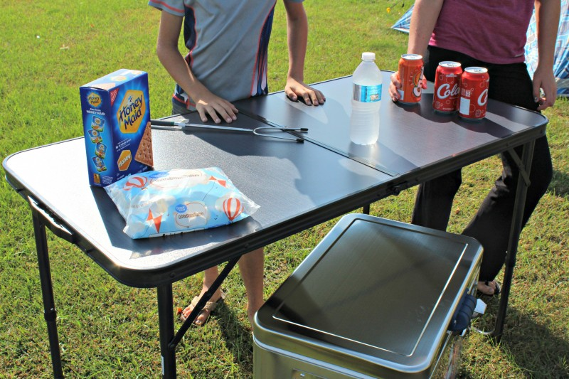 RIO Brands Camping Gear Centerfold Table