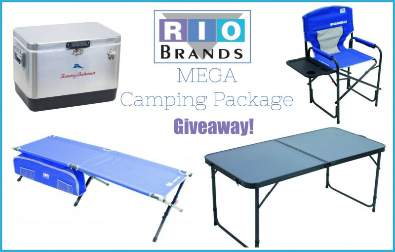 RIO Brands Mega Camping Package Giveaway