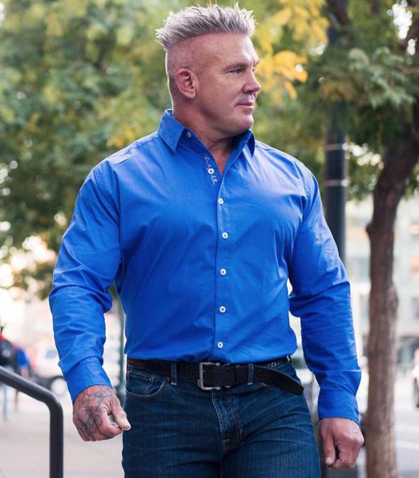 Bradley Allen Clothing for Buff Men