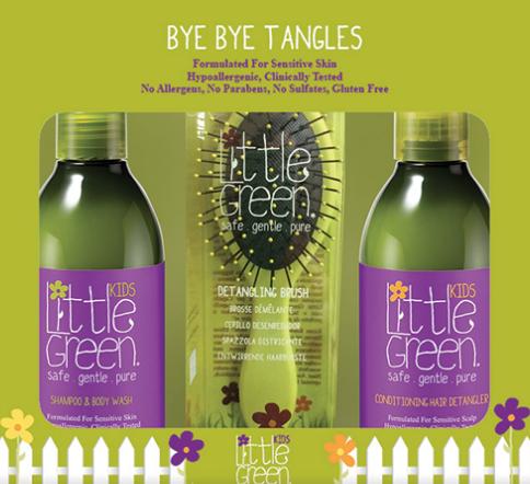 Little Green Kids Bye Bye Tangles Gift Set