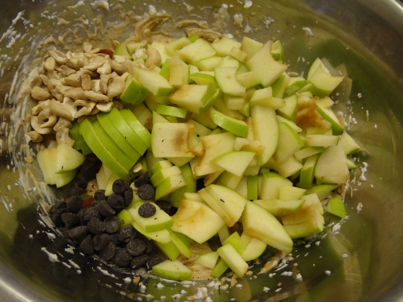 apple salad recipe vegan
