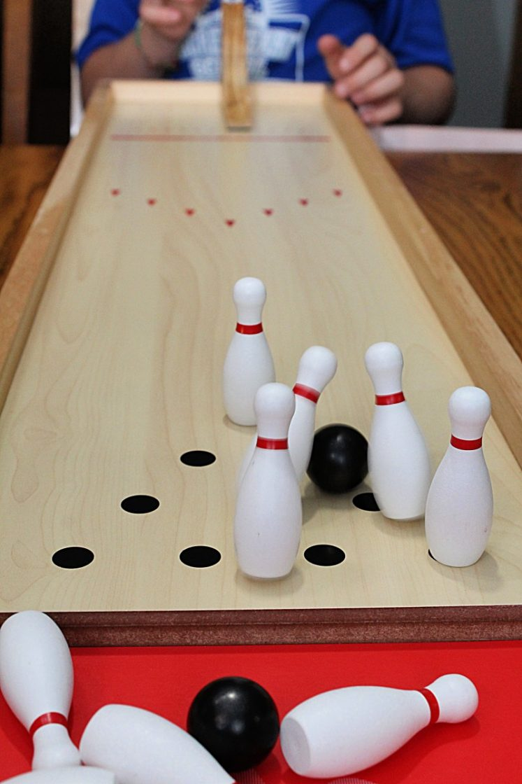 GoSports Tabletop Premium Wooden Bowling Game & GoSports: Games Gear u0026 More! Great Gift Ideas! | Emily Reviews
