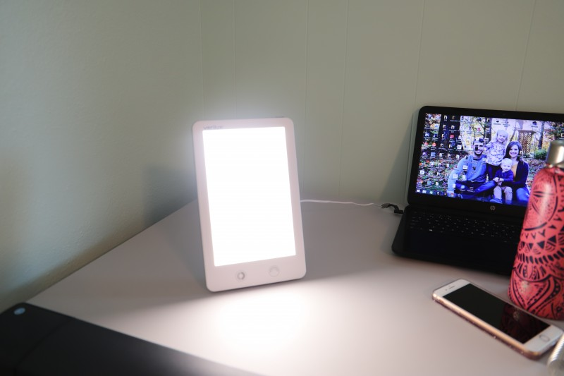 Verilux Happylight Touch And Happy Light Lucent Led