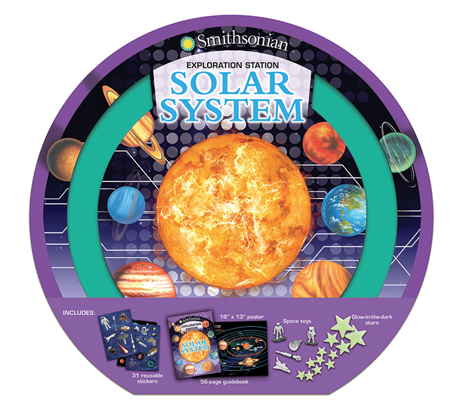 Silver Dolphin Books Smithsonian Exploration Station: Solar System