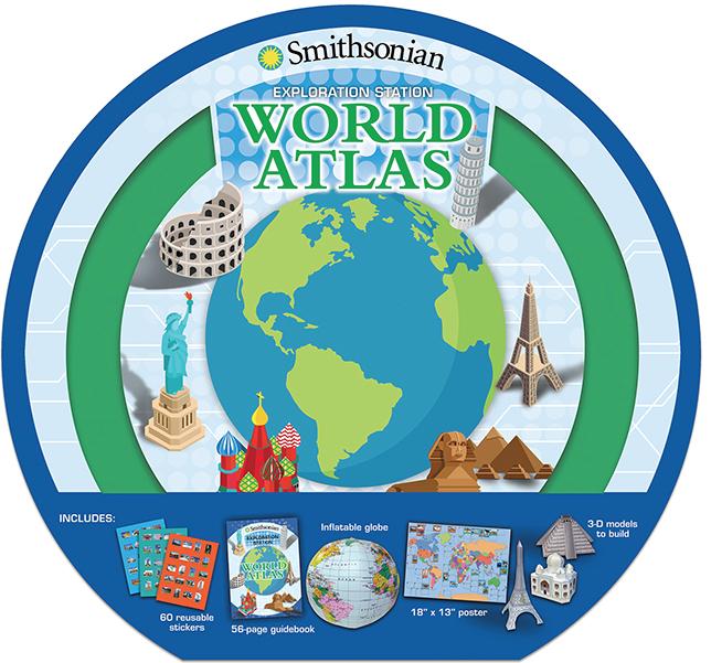 Silver Dolphin Books: Smithsonian Exploration Station: World Atlas