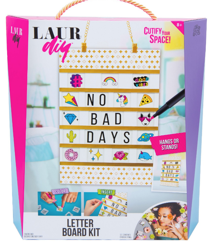 Mattel LaurDIY Letter Board Kit