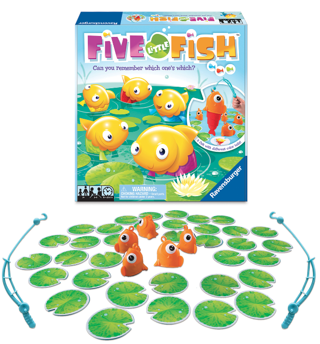 Five Little Fish Kids Game