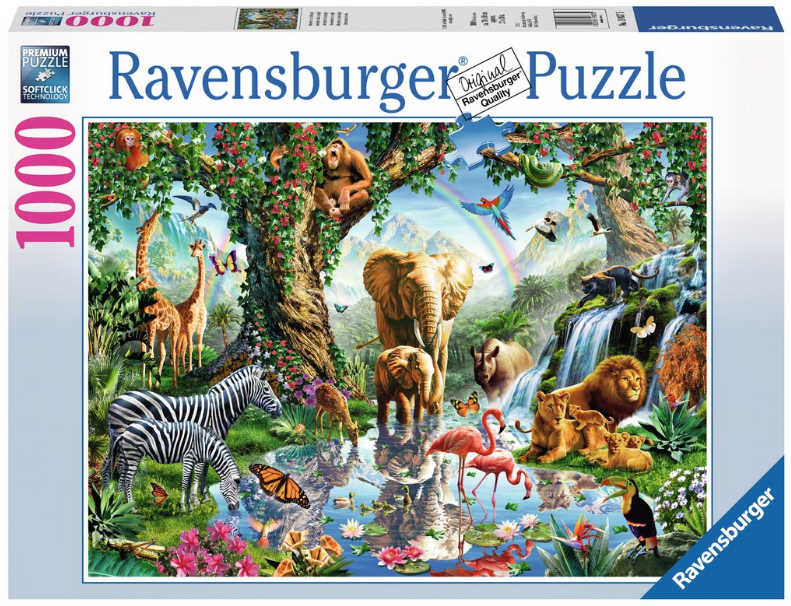 Ravensburger Adventures in the Jungle 1,000 piece puzzle