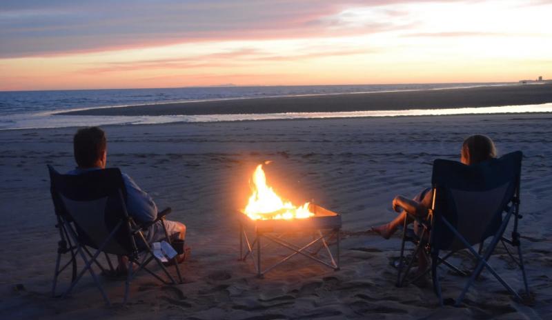 Fireside Outdoor Pop-Up Pit Base Kit & Heat Shield Combo