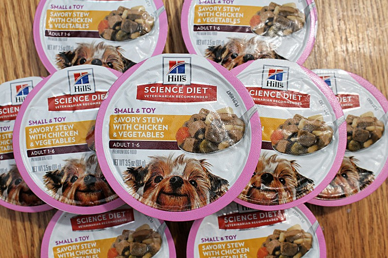 Chewy.com - Hill's Science Diet Adult Small & Toy Breed Savory Chicken & Vegetable Stew