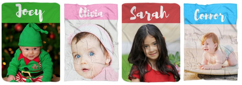 Naptime Kids - Personalized Photo Blanket