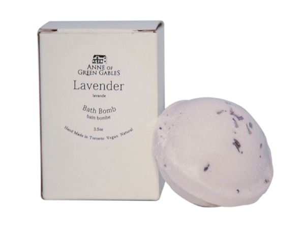 Anne of Green Gables Inspired Lavender Bath Bomb