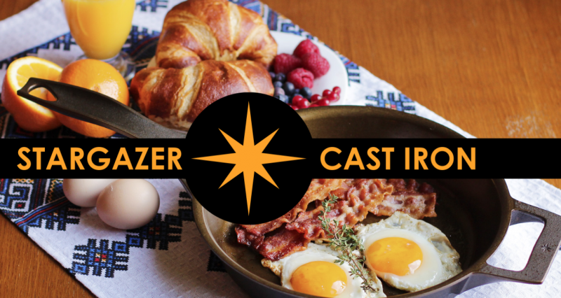 Stargazer Cast Iron Pans