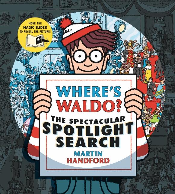 Candlewick Press Where's Waldo? The Spectacular Spotlight Search