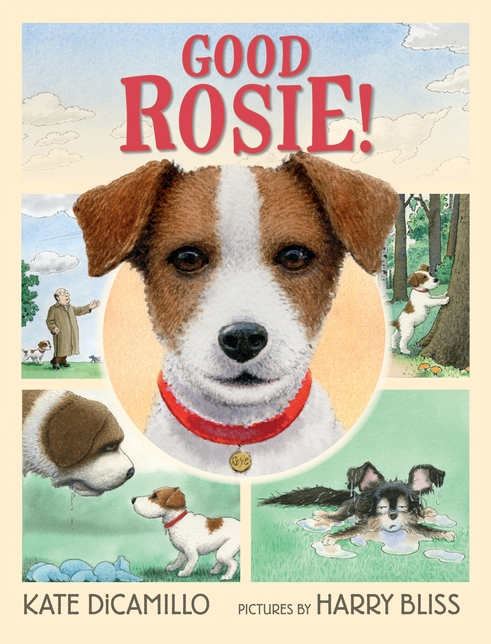 Candlewick Press Good Rosie! author: Kate DiCamillo illustrator: Harry Bliss