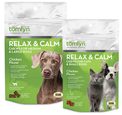 Relax & Calm Chews for Cats or Dogs
