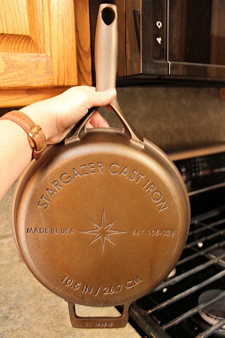 Stargazer Cast Iron Skillet {Review + Giveaway} 3