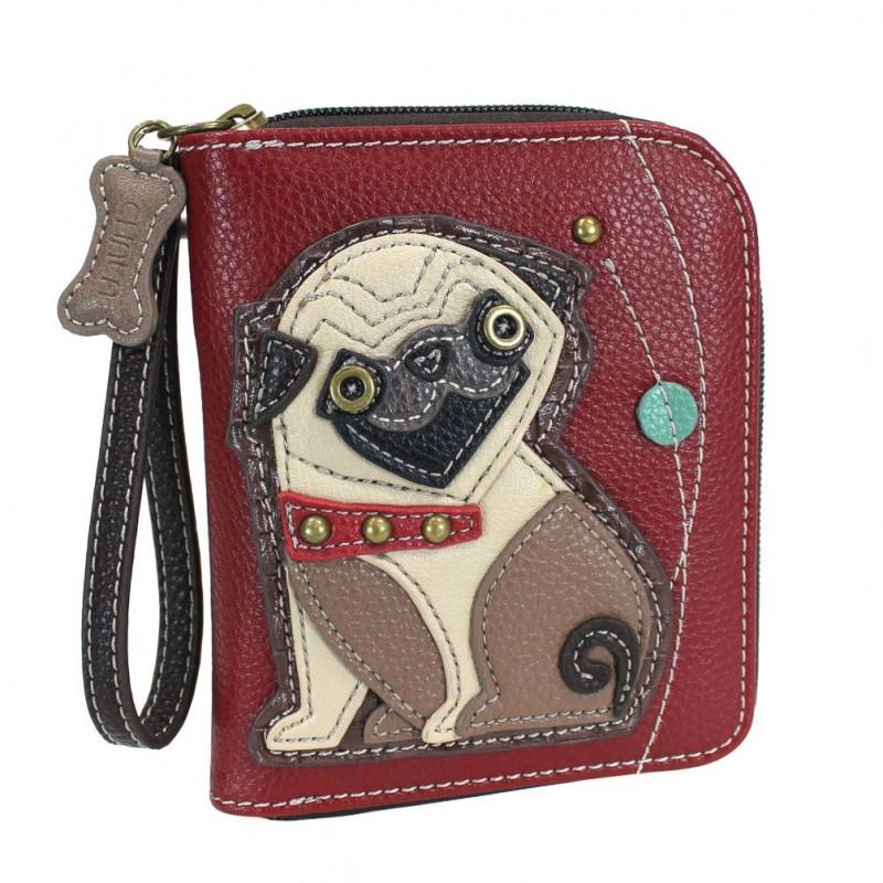 Chala bags pug wallet