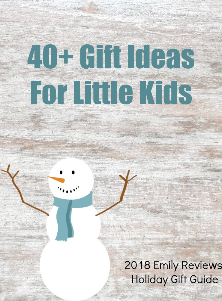 40+ gift ideas for little kids. Gift guide for kids ages 3-7.