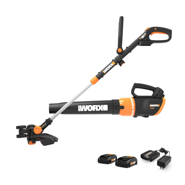 Worx GT Revolution trimmer blower combo