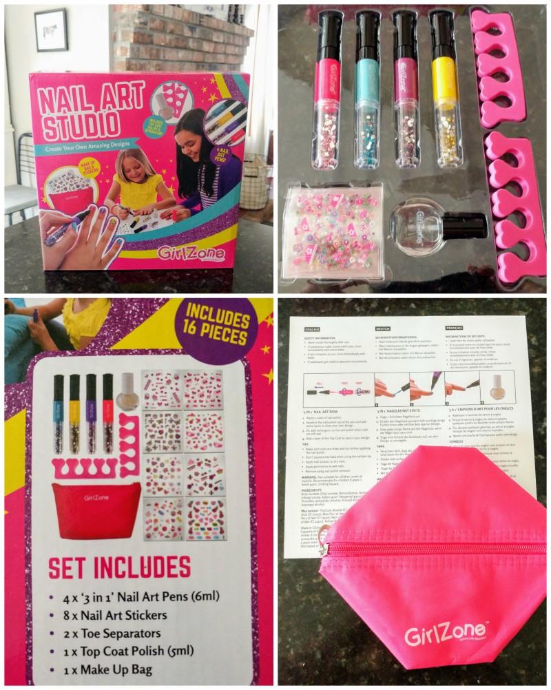 ead874b55 Townley Girl Nail Art Set Walmartcom. Girlzone Diy Beauty Product Kits Art  Sets Review Emily Reviews