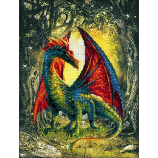 RIOLIS dragon cross stitch kit