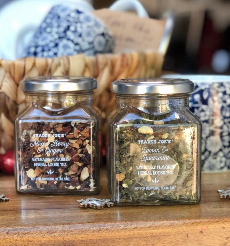 Trader Joe's tea gift set