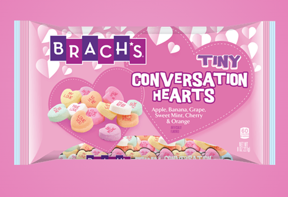 Brach's Candy Hearts Let You #shareyourheart This Valentine's Day!