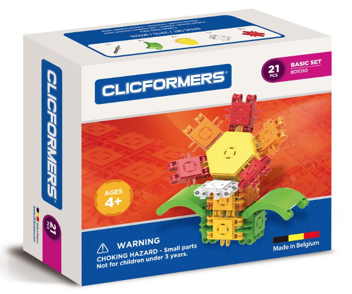 Clicformers 21 piece Basic Set Building Toy