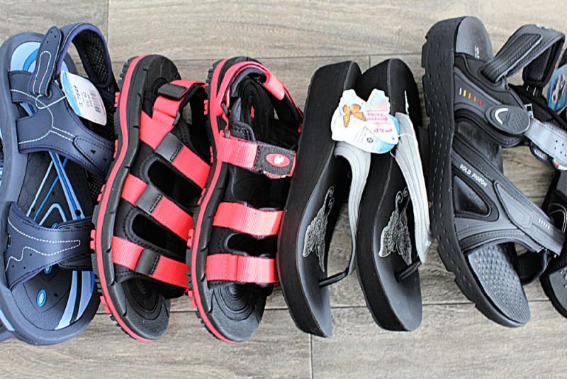Gold Pigeon Sandals For Men & Women 26