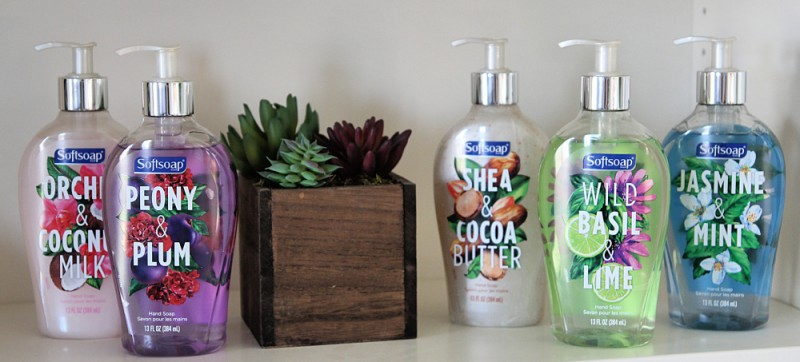 Bringing Some Interior Design To The Counter Top With Softsoap Décor Collection