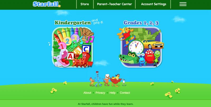 Starfall Educational Learning Website