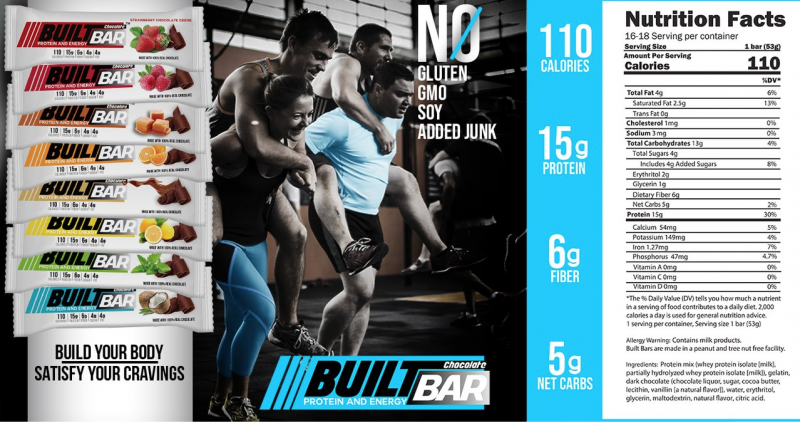 Built Bar - Protein & Energy All In One Place