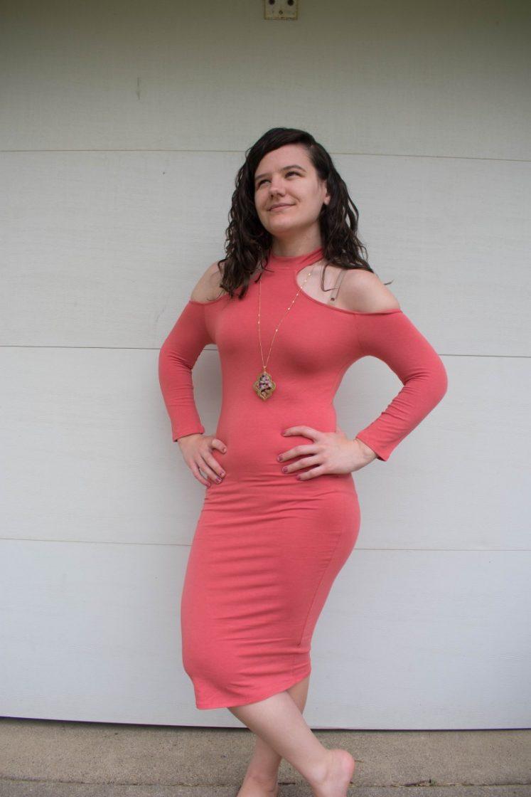 Nadine west bodycon dress