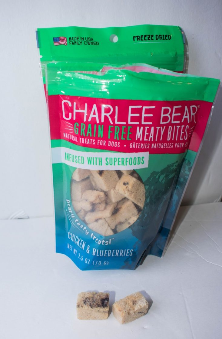 Charlee Bear freeze-dried meaty bites