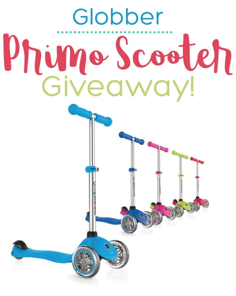 globber scooter giveaway 2