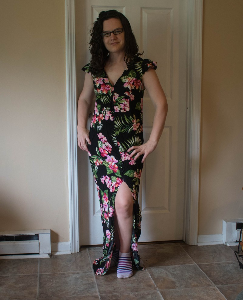 Nadine west slit dress