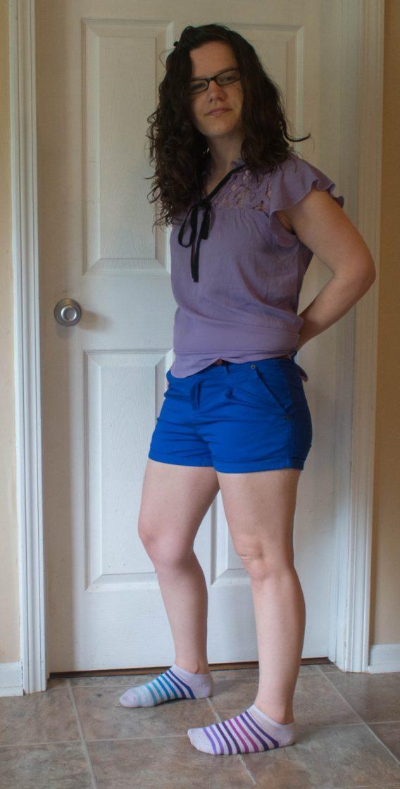 Nadine west chino shorts