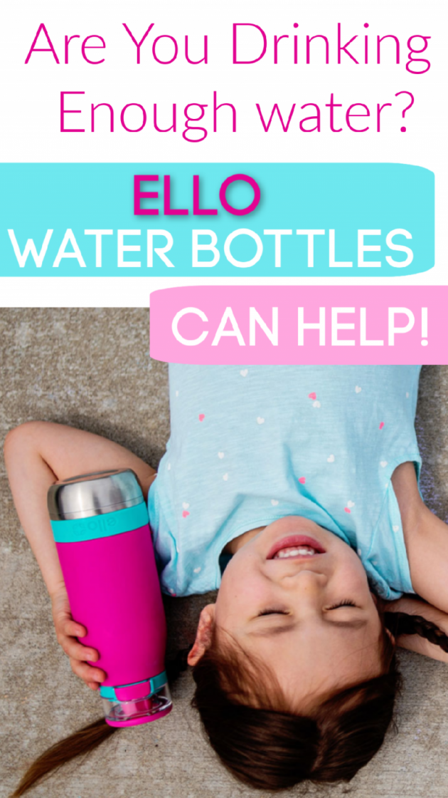 Are You Drinking Enough Water? {+ Ello Water Bottles Review}