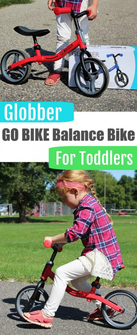 Globber Scooters GO BIKE Balance Bike {Review + Giveaway}