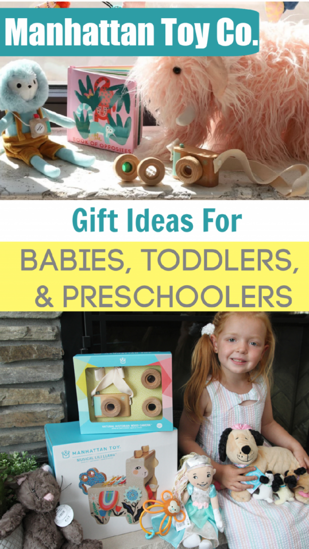 Manhattan Toy Co. Offers Great Gift Ideas For Babies, Toddlers, & Preschoolers