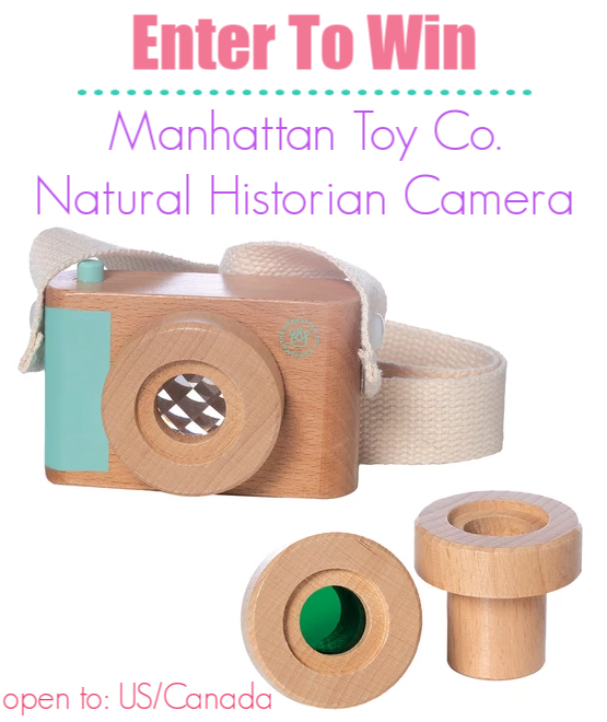 Manhattan Toy Company Natural Historian Camera Giveaway - Manhattan Toy Co. Offers Great Gift Ideas For Babies, Toddlers, & Preschoolers {+ Giveaway!}