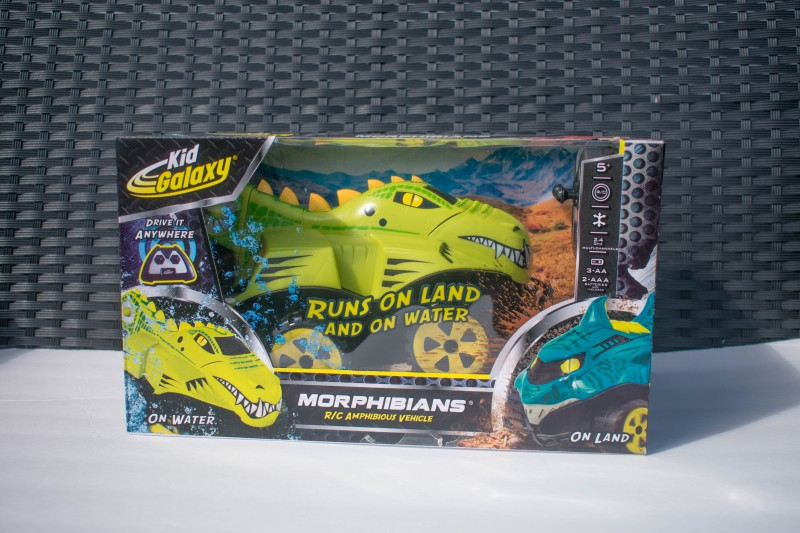 Wicked uncle R/c crocodile car
