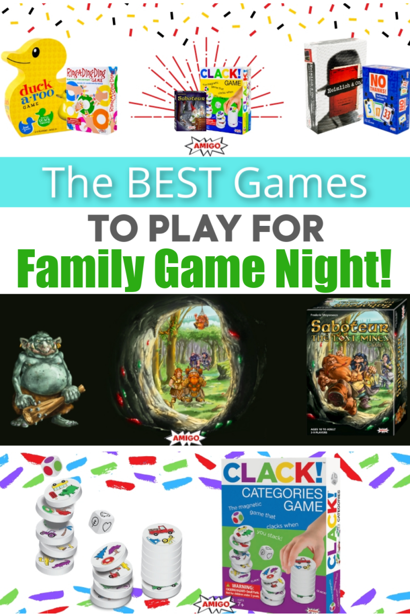 Amigo Games - The Power Of Game Play - Gift AMIGO Games This Christmas